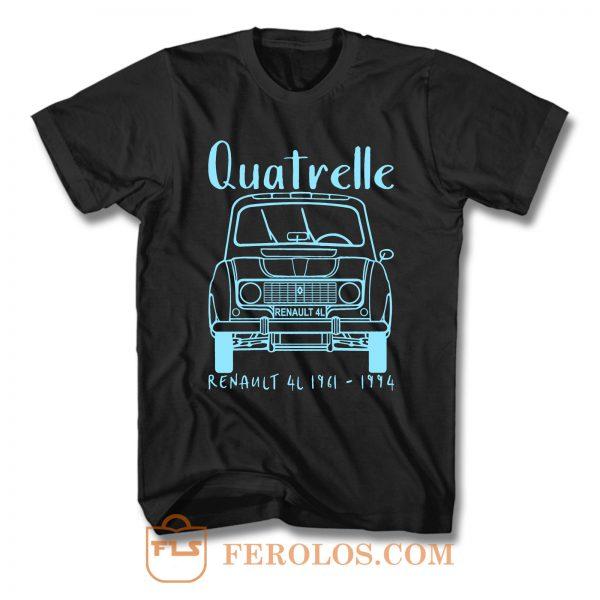 Renault 4 Quatrelle T Shirt