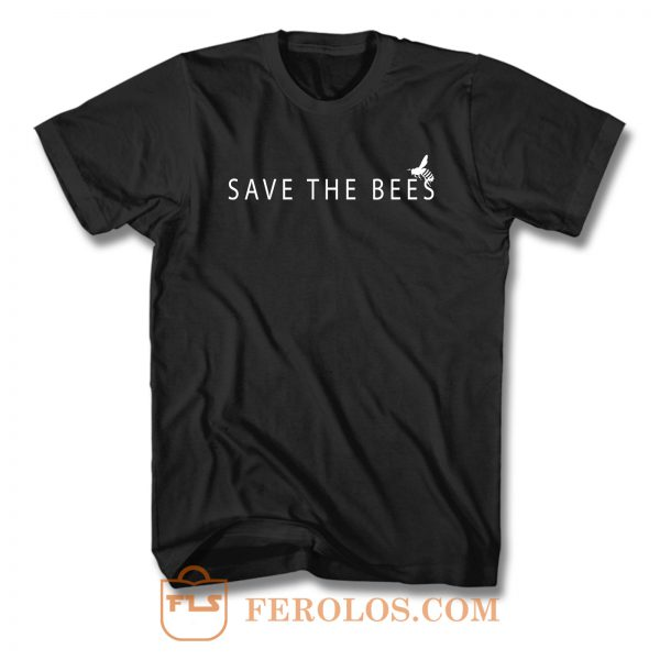 Save The Bees T Shirt
