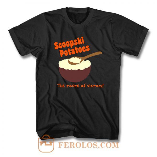 Scoopski Potatoes T Shirt