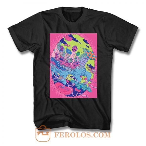 Sketchbook Inspiration Psychedelic Art T Shirt