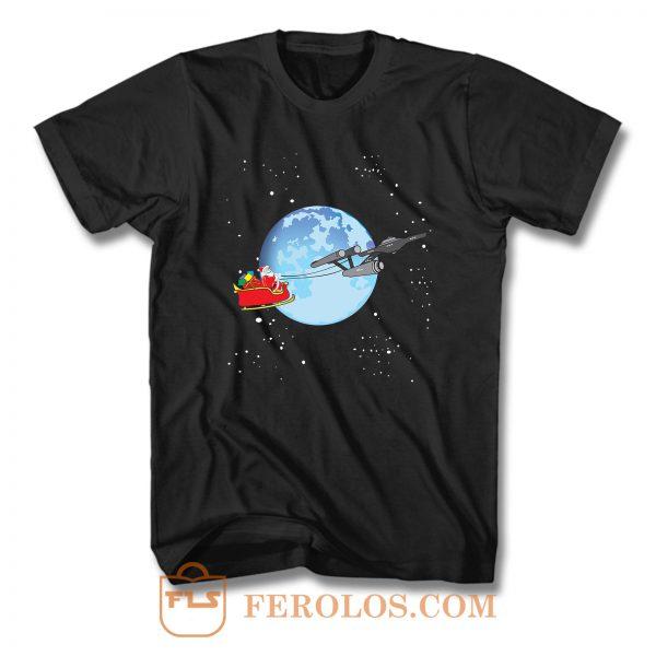 Star Trek Christmas T Shirt