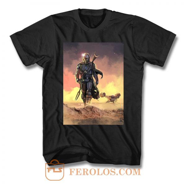 Star Wars Mandalorian T Shirt