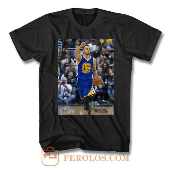 Stephen Curry Dribbling T Shirt