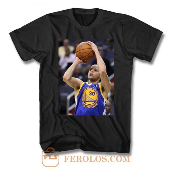 Stephen Curry Shooting T Shirt