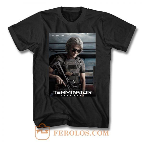 Terminator Dark Fate 4 T Shirt