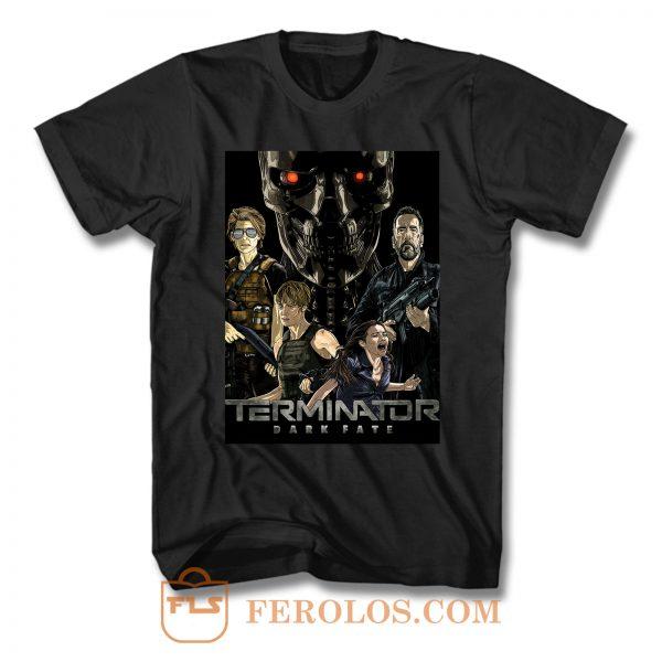 Terminator Dark Fate 6 T Shirt