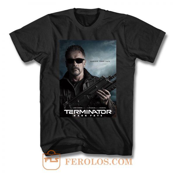 Terminator Dark Fate Arnold Schwarzenegger T Shirt