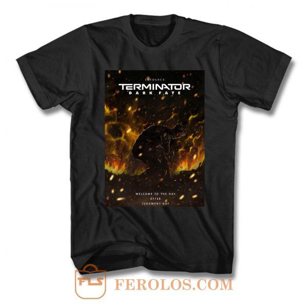 Terminator Dark Fate Rev 9 T Shirt