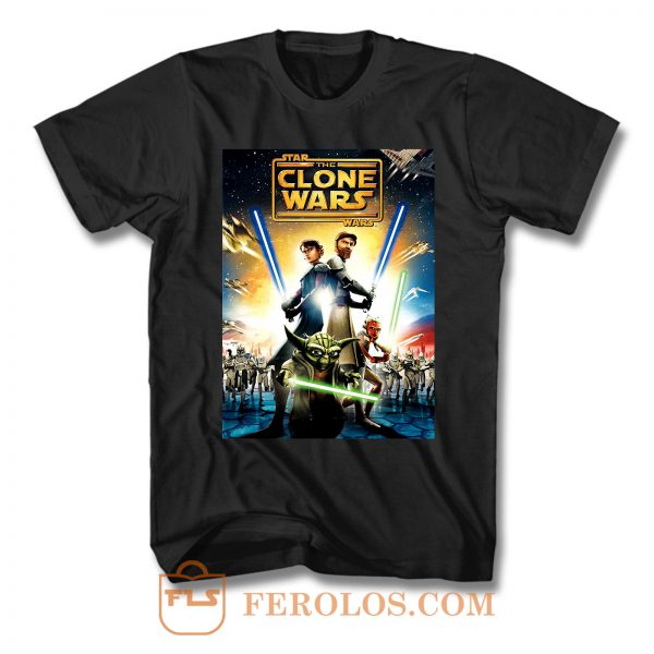 The Clone Wars T Shirt