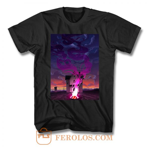 The Color Out Of Space 3 T Shirt