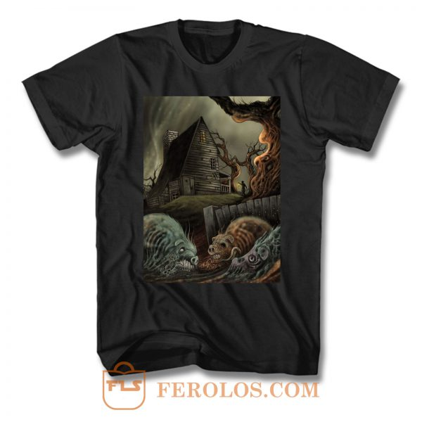 The Color Out Of Space Lovecraft Art T Shirt