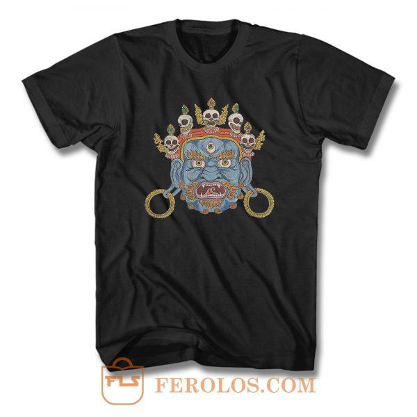 Tibet Demon Asian Punk Look T Shirt