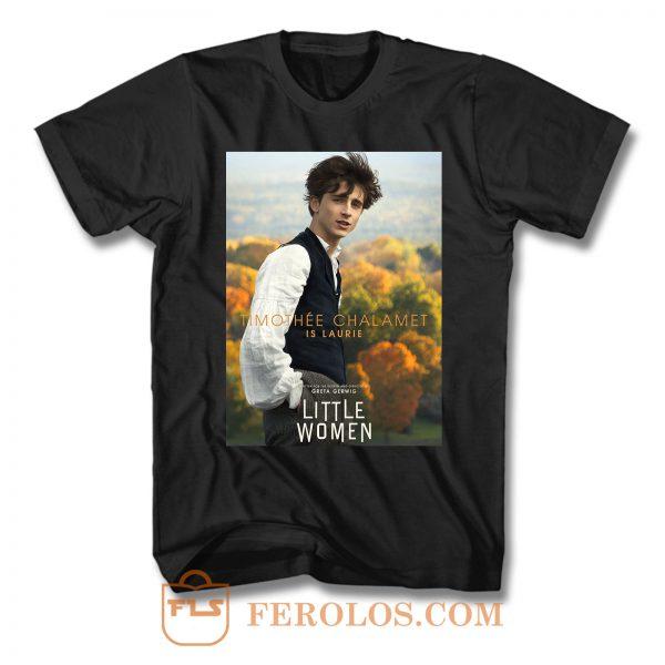 Timothee Chalamet Little Women T Shirt