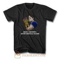 Tom Brady Thanos New England Football T Shirt