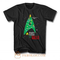 Trek The Halls T Shirt