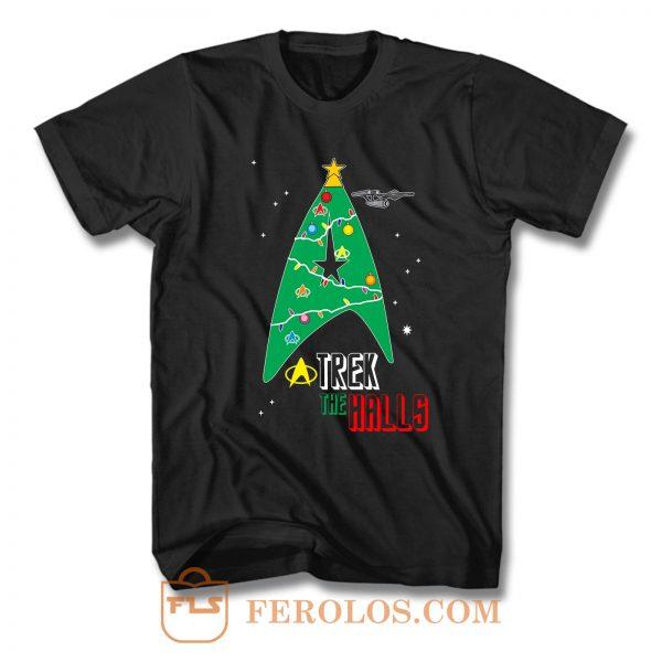 Trek The Halls T Shirt