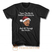 Twas The Nizzle Snoop Dogg Santa T Shirt