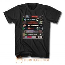 Vhs Horror T Shirt