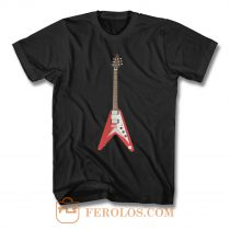 Vintage Flying V Guitar T Shirt