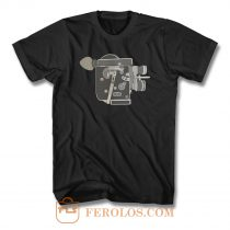 Vintage Movie Camera 70s T Shirt