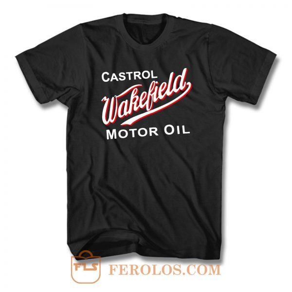 Wakefield Oil Castrol T Shirt