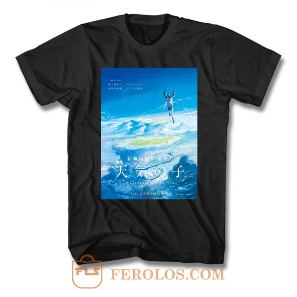 Weathering With You Movie T Shirt