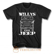 Willys Jeep T Shirt
