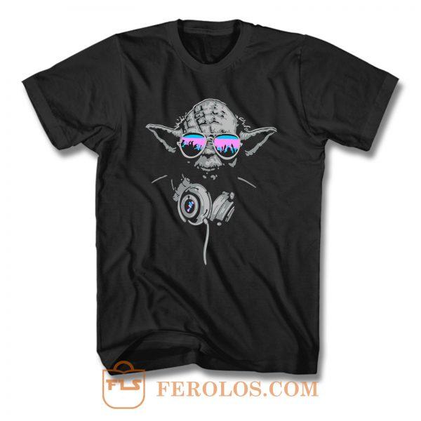 Yoda Dj Master Star Wars T Shirt
