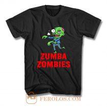 Zumba Zombies T Shirt